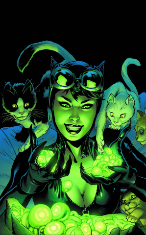 Catwoman #44 (Green Lantern 75th Anniversary Cover)