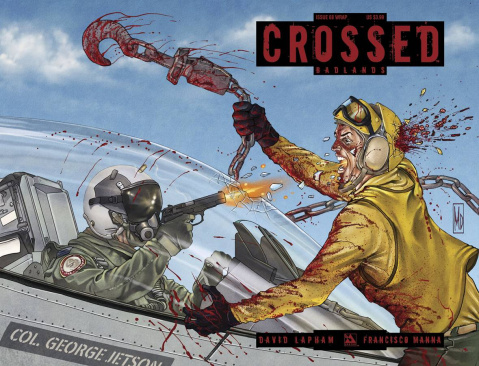 Crossed: Badlands #68 (Wrap Cover)