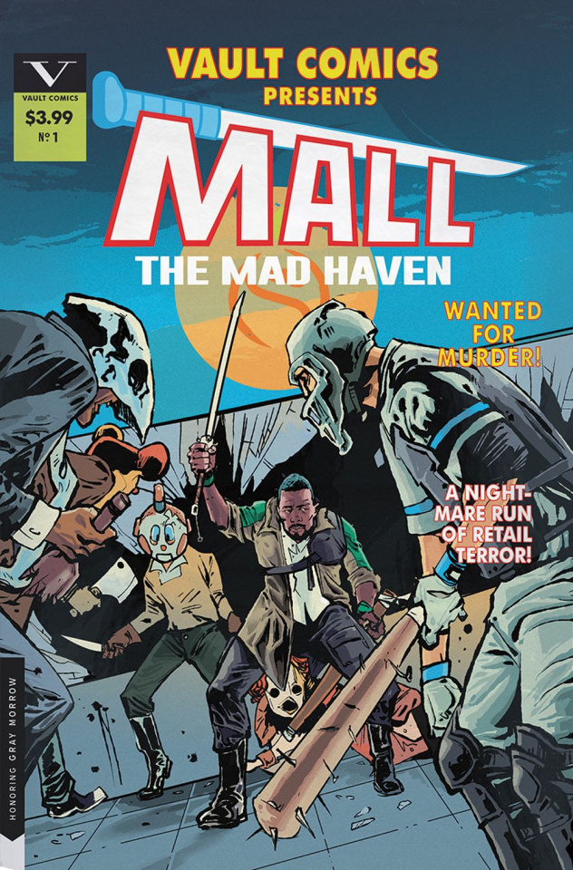 Mall #1 (Cover B)
