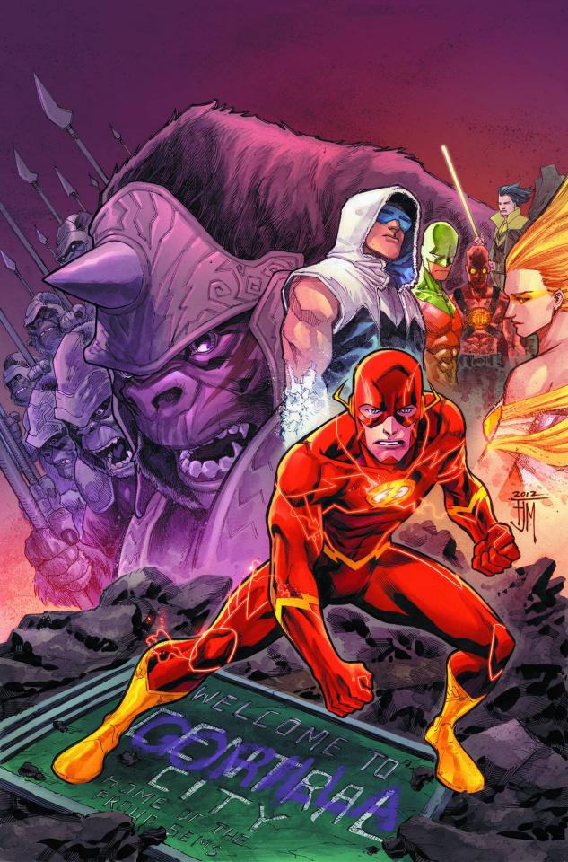 The Flash Vol. 3: Gorilla Warfare