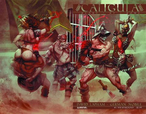 Caligula: Heart of Rome #1 (Wrap Cover)