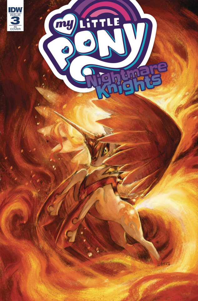 My Little Pony: Nightmare Knights #3 (10 Copy Meyer Cover)