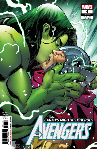 Avengers #4 (Medina 2nd Printing)