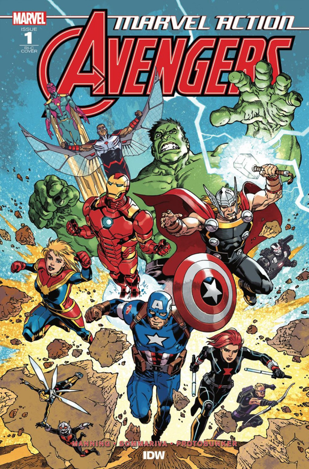 Marvel Action: Avengers #1 (50 Copy Rodriguez Cover)