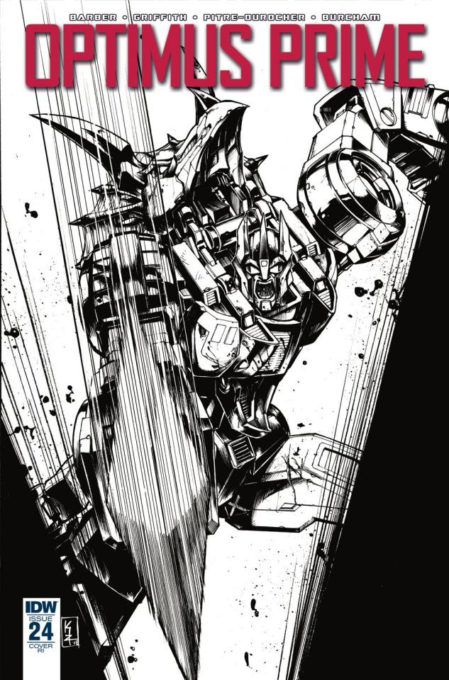 Optimus Prime #24 (10 Copy Zama Cover)