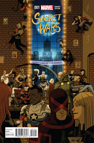 Secret Wars #1 (Zdarsky Party Cover)