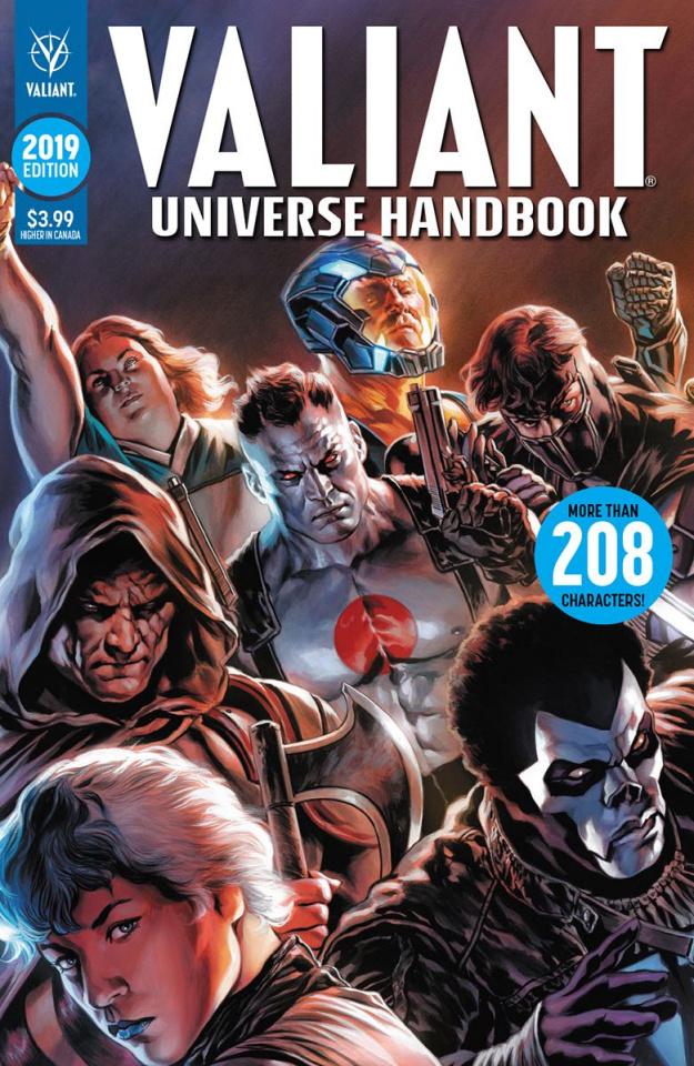 Valiant Universe Handbook 2019