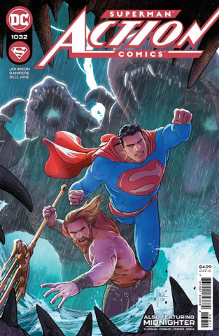 Action Comics #1032 (Mikel Janin Cover)