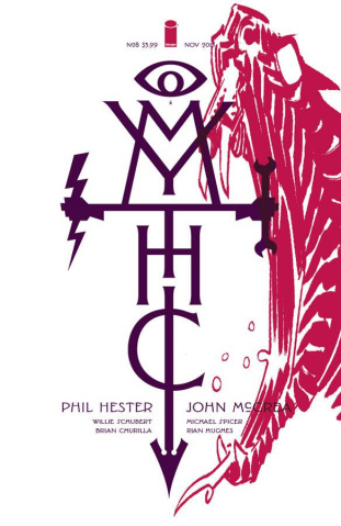 Mythic #8 (McCrea & Hughes Cover)