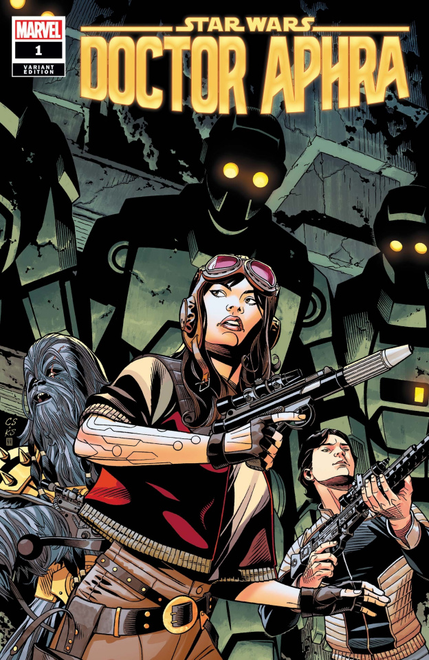 Star Wars: Doctor Aphra #1 (Sprouse Cover)