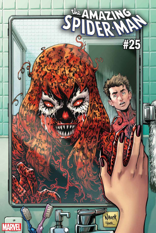 The Amazing Spider-Man #25 (Nauck Carnage-ized Cover)