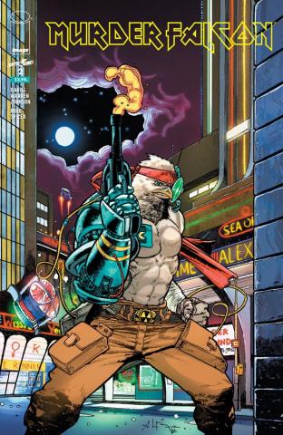 Murder Falcon #2 (Heavy Metal Cover)