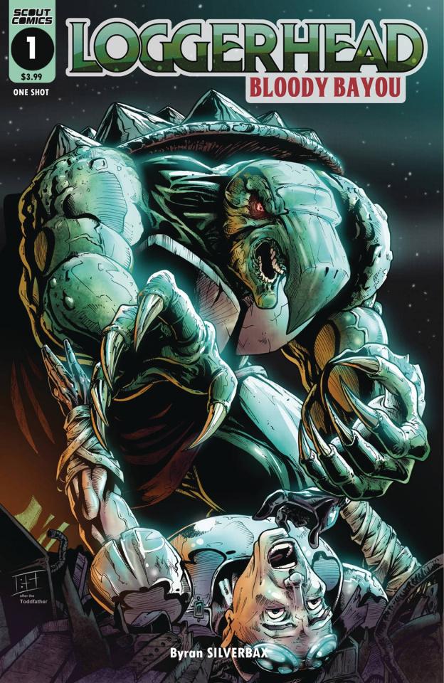 Loggerhead: Bloody Bayou #1 (Silverbax Cover)