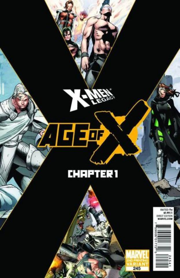 X-Men Legacy #245 (2nd Printing)