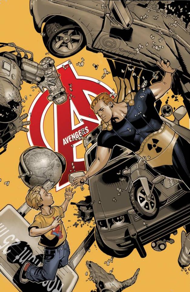 Avengers #34.1 (Bachalo Cover)
