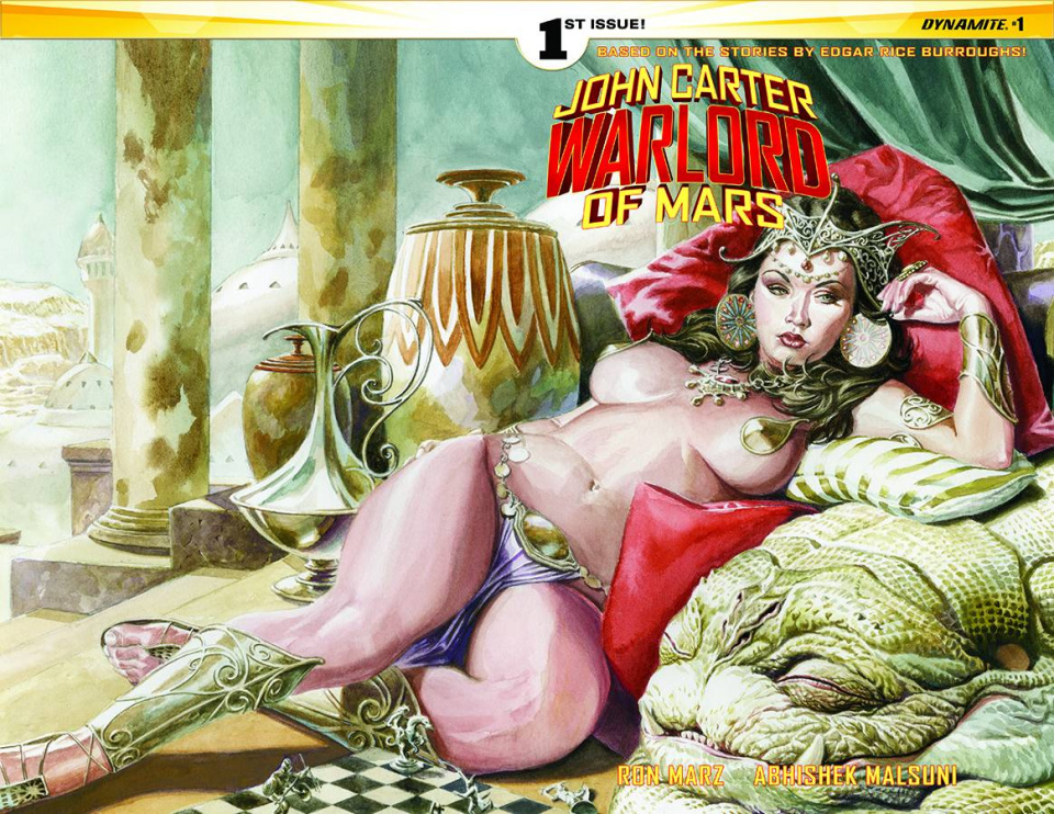 John Carter: Warlord of Mars #1 (ones Wraparound Cover)
