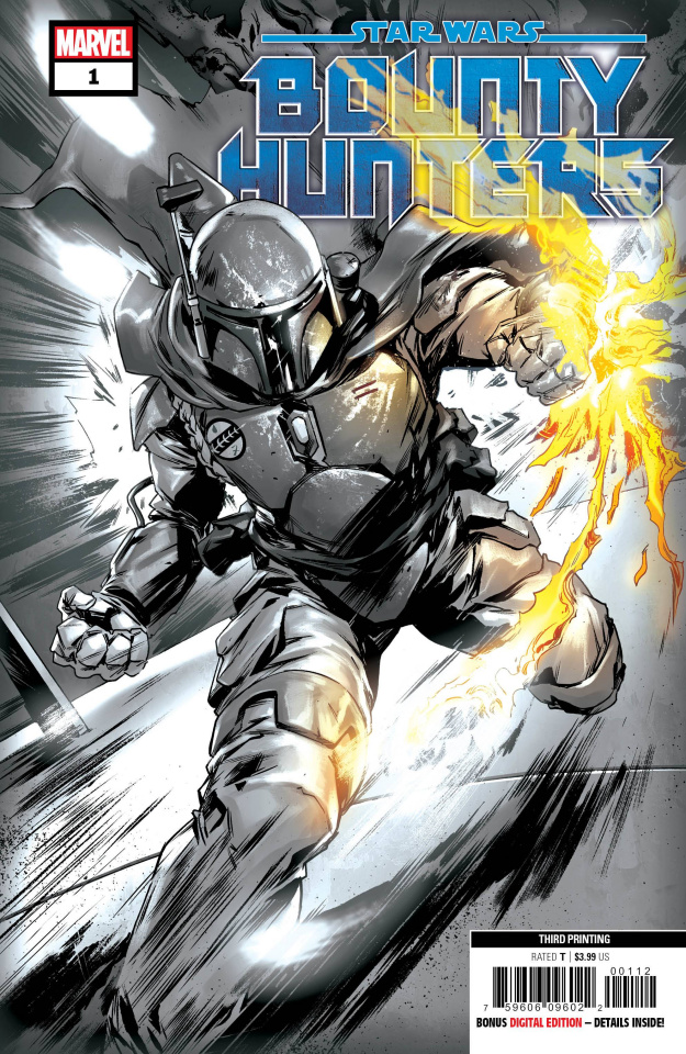 Star Wars: Bounty Hunters #1 (Villanelli 3rd Printing)