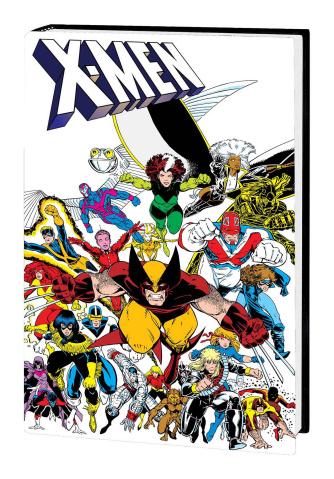 X-Men: Inferno Prologue (Adams Omnibus Cover)