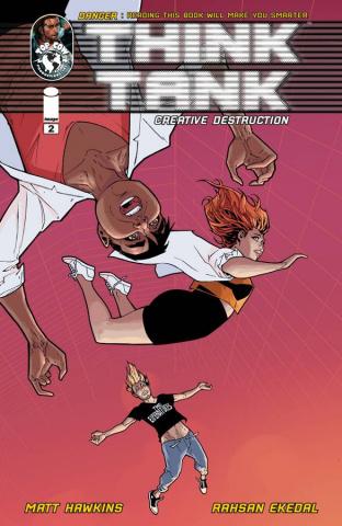 Think Tank: Creative Destruction #2 (Ekedal Cover)