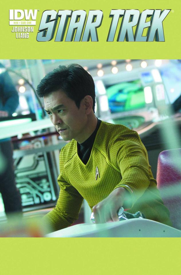 Star Trek #29 (Subscription Cover)