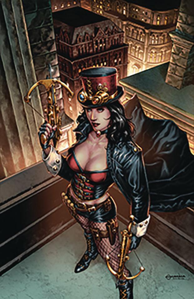 Van Helsing: The Sword of Heaven #1 (Vigonte Cover)