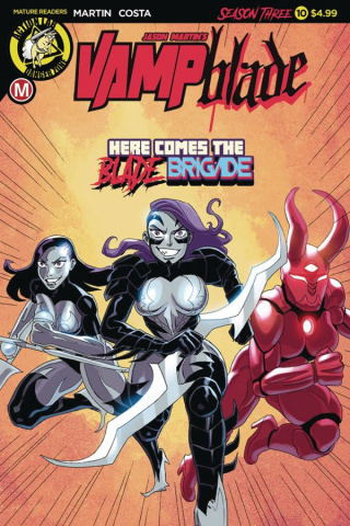 Vampblade, Season Three #10 (Costa Cover)
