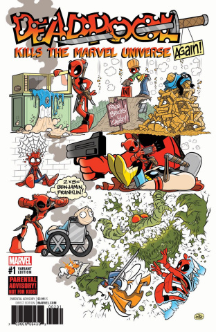 Deadpool Kills the Marvel Universe Again #1 (Fosgitt Cover)