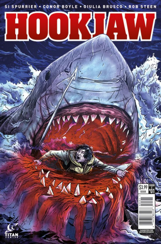 Hookjaw #1 (Laming Cover)