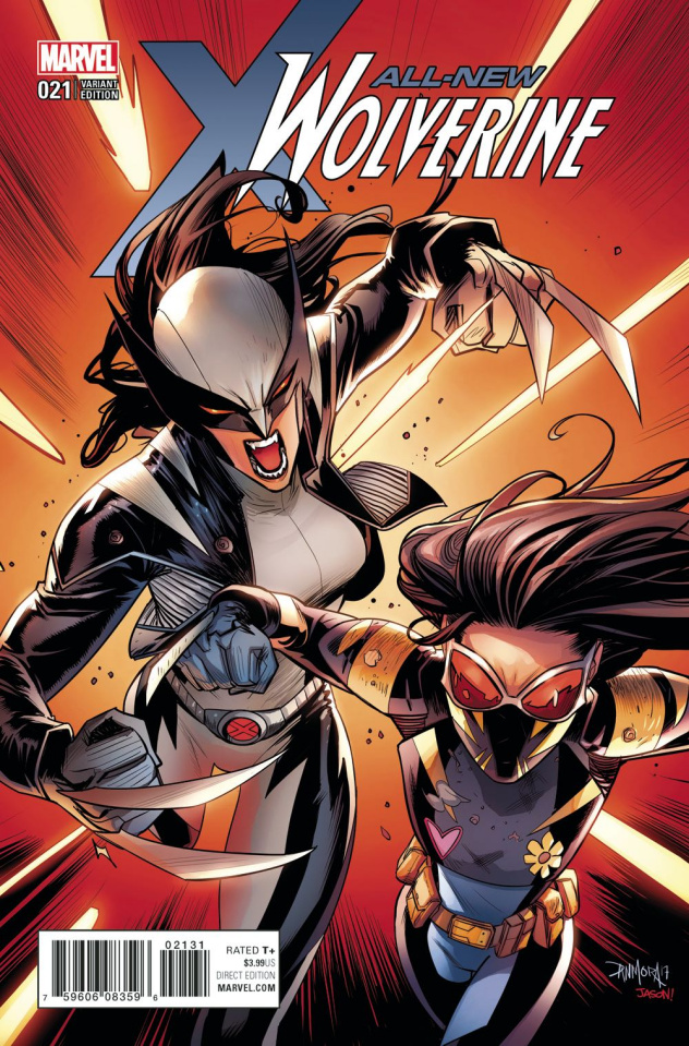 All-New Wolverine #21 (Mora Cover)