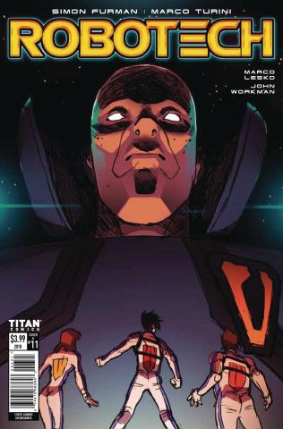 Robotech #11 (Milonogiannis Cover)