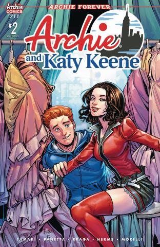 Archie #711 (Archie & Katy Keene Pt 2, Braga Cover)