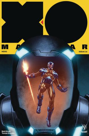 X-O Manowar #23 (Yapur Cover)
