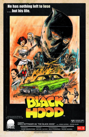 The Black Hood #3 (Dark Circle Movie Throwback Cover)