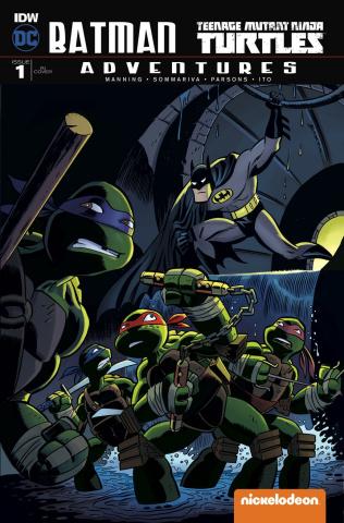 Batman / TMNT Adventures #1 (10 Copy Cover)