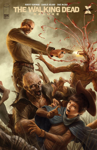 The Walking Dead Deluxe #17 (Rapozo Cover)