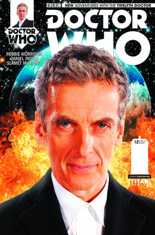 Doctor Who: New Adventures with the Twelfth Doctor #12 (Subscription Photo Cover)