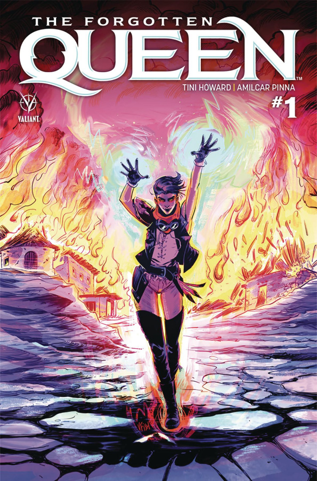 The Forgotten Queen #1 (Fish Cover)
