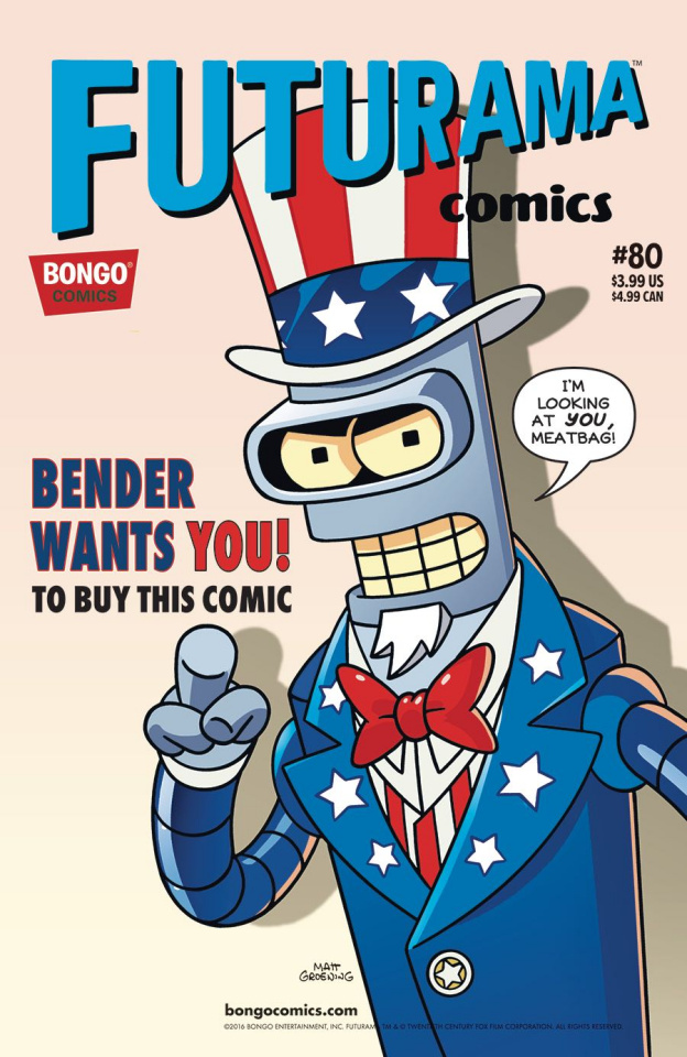 Futurama Comics #80
