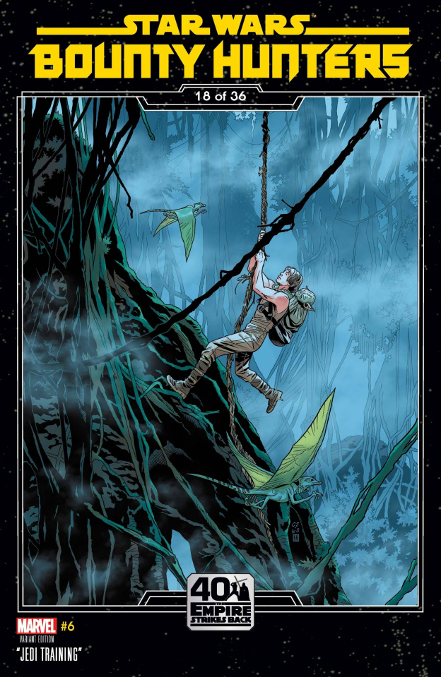 Star Wars: Bounty Hunters #6 (Sprouse Empire Strikes Back Cover)