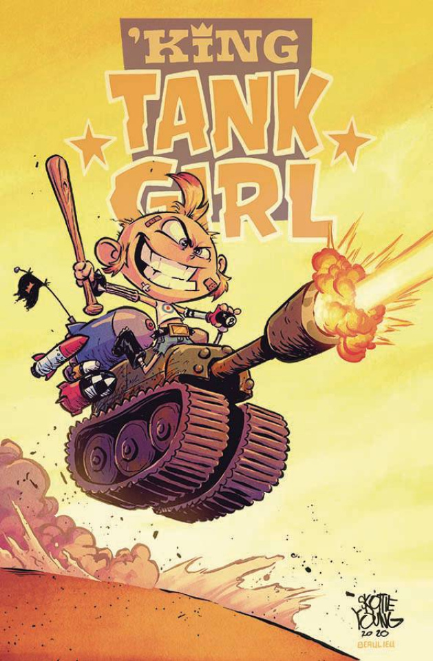 King Tank Girl #5 (Skottie Young Cardstock Cover)