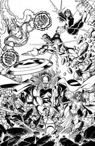 Avengers #10 (Perez Cover)