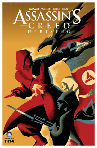 Assassin's Creed: Uprising #7 (Caltsoudas Cover)
