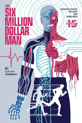The Six Million Dollar Man #2 (Walsh Cover)