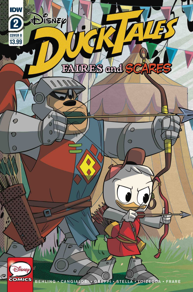 DuckTales: Faires and Scares #2 (Cover B)