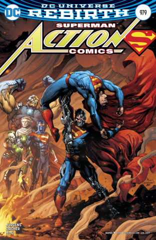 Action Comics #979 (Variant Cover)