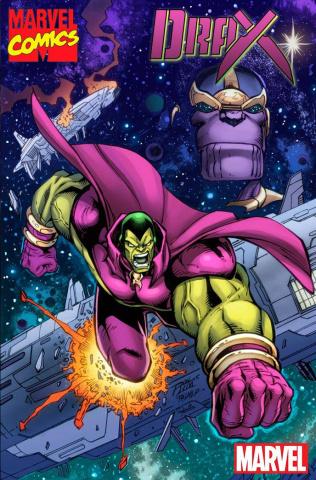 Drax #2 (Lim Marvel '92 Cover)