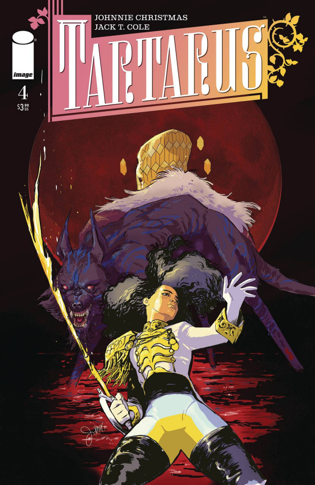 Tartarus #4 (Christmas Cover)