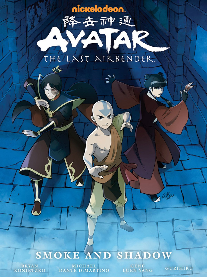 Avatar: The Last Airbender - Smoke and Shadow (Library Edition)