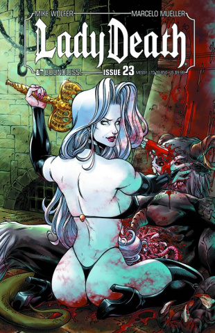 Lady Death #23 (Messy Cover)