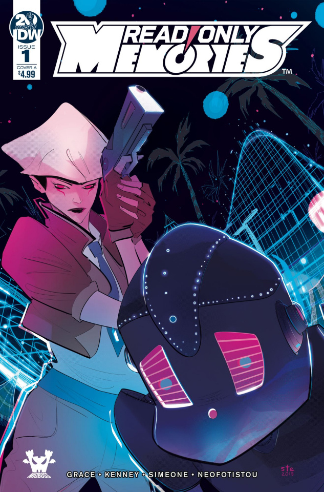 Read Only Memories #1 (Simeone Cover)